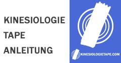 Kinesiologie Tape Anleitung
